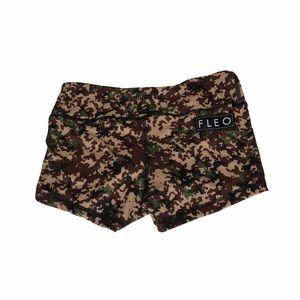Fleo digital camouflage shorts